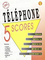 Telephone 5 Scores Volume 2 Book