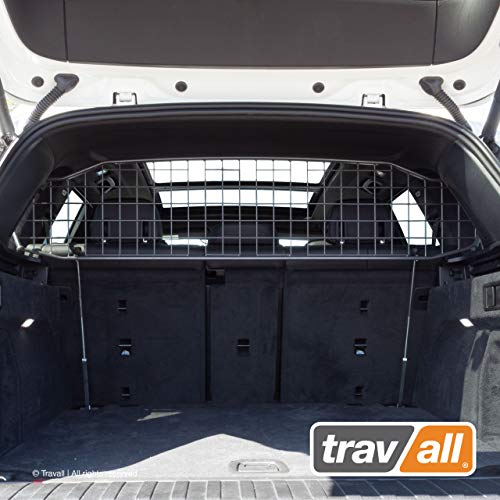 Travall Guard Compatible with BMW X5 G05 (2018-Current) TDG1630 - Rattle-Free Steel Vehicle Specific Pet Barrier