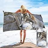 mengmeng Toalla de secado rápido Wolf by the Rock, para...