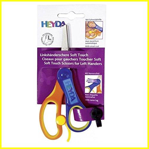 Baier & Schneider Soft Touch - Forbici universali per bambini, per mancini