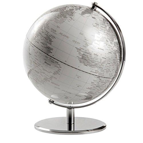 emform SE-0623 Globus Iceplanet - Tischglobus - politisch - Kunststoff - Aluminium Ø 24 cm