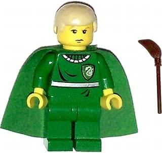 LEGO Harry Potter Minifig Draco Malfoy Green Quidditch Uniform