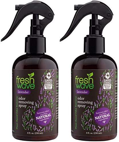 Fresh Wave Lavender Odor Eliminator Spray Air Freshener 8 fl oz Natural Ingredients Pack of product image
