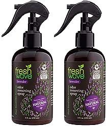 professional Fresh Wave Lavender Deodorant Spray  Air Freshener, 8 fl oz, natural ingredients (2 packs)
