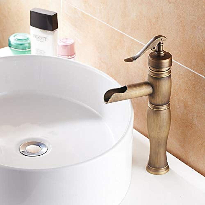 Wasserhahn Küche Waschbecken Badezimmer Antike Messing Bad Wasserhahn Bad Hoch Toilette Retro Becken Wasserhahn Einhand Waschbecken Wasserhhne T