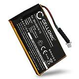 CELLONIC® Batería de Repuesto 361-00019-12 Compatible con Garmin Edge 605 / Edge 705, 1250mAh Accu GPS Pila sustitución Battery