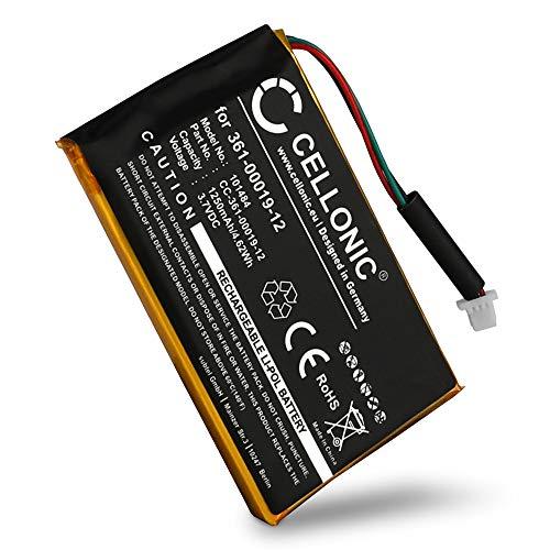 CELLONIC® Batterie Premium Compatible avec Garmin Edge 605 / Edge 705, 361-00019-12 1250mAh Accu Rechange Remplacement