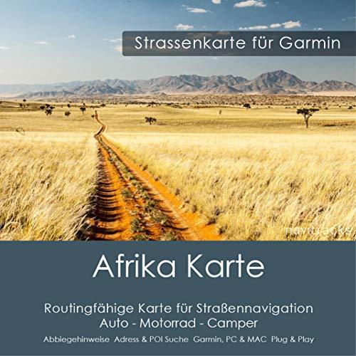 Afrika GPS Karte für Garmin - 8GB microSD. Navigationsgeräte, PC & MAC v2021