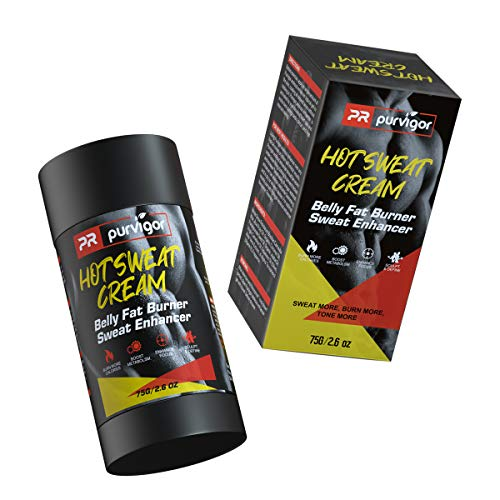Belly Fat Burner Sweat Stimulator, Fat Burning Slimming Cream, Hot...