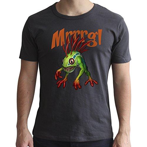 ABYstyle - World of Warcraft - T-Shirt - Murloc - Herren - Dunkelgrau (S)