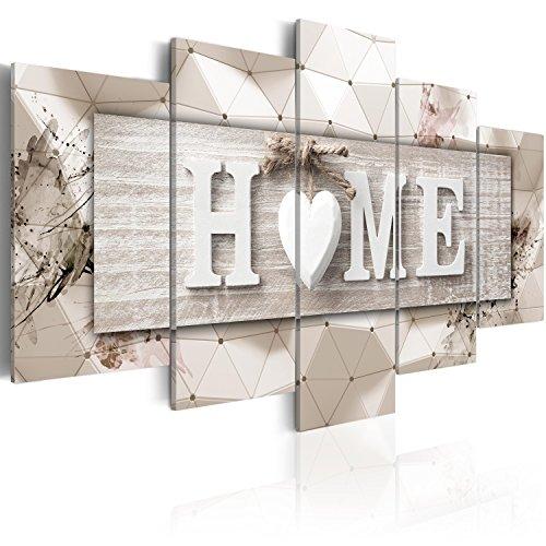 murando Cuadro en Lienzo 200x100 cm Home Impresión de 5 Piezas Material Tejido no Tejido Impresión Artística Imagen Gráfica Decoracion de Pared Tablas 3D m-C-0251-b-p