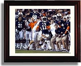 Framed Auburn Tigers Chris Davis Kick Six SEC Champions Autograph Replica Print