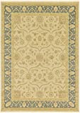 Unique Loom Edinburgh Collection Oriental Traditional French Country Champagne Area Rug (8' 0 x 11' 0)