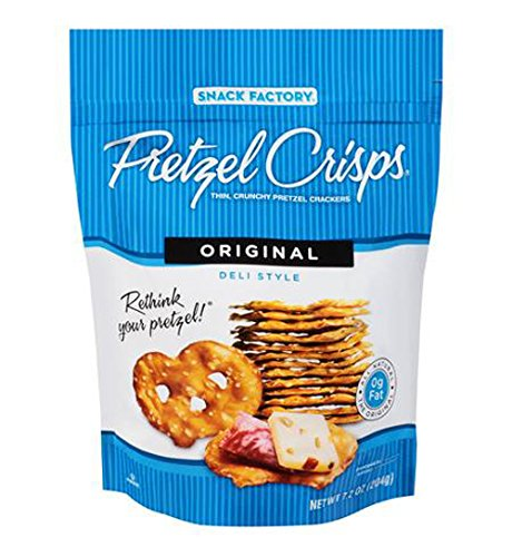 Snyders Pretzel Crisps Original 85 g (Pack of 8)