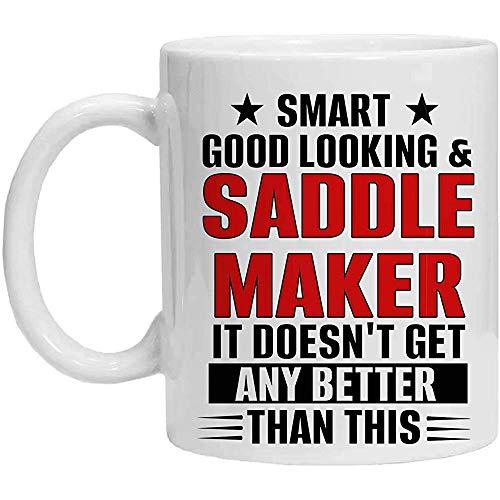 SATTELHERSTELLER-Kaffeetasse - SMART, GUT SCHAUENDER SATTELHERSTELLER
