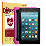 [2-Pack] OMOTON Screen Protector for All-New Fire 7 / Fire 7 Kids Edition Tablet (9th/7th Gen, 2019/2017...
