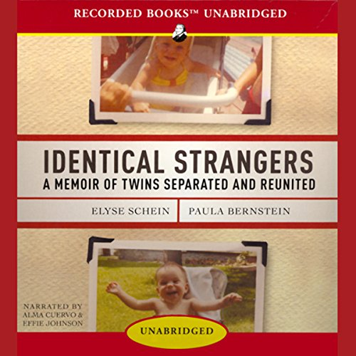 Identical Strangers audiobook cover art