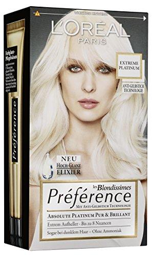 L'Oréal Paris Préférence Absolute Platinum extreme platinum, 3er Pack (3 x 1 Stück)