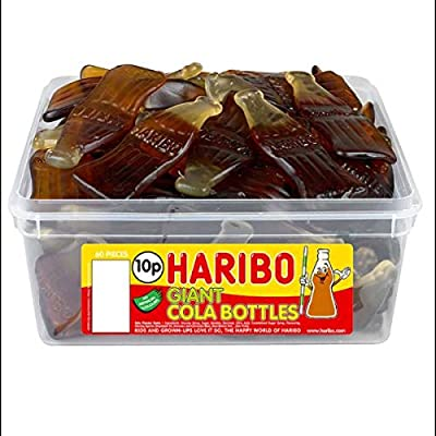 haribo sweet party tub (giant fizzy cola bottles) HARIBO SWEET PARTY TUB (GIANT FIZZY COLA BOTTLES) 510xYh2MwaL
