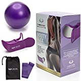 TYBER FLEX Sculpting Kegel Exerciser for Women - Hip Trainer Buttocks Lifting – Premium Butt Exercise Equipment with Hip Trainer, Resistance Band and Mini Yoga Ball – Bonus Training Videos Included