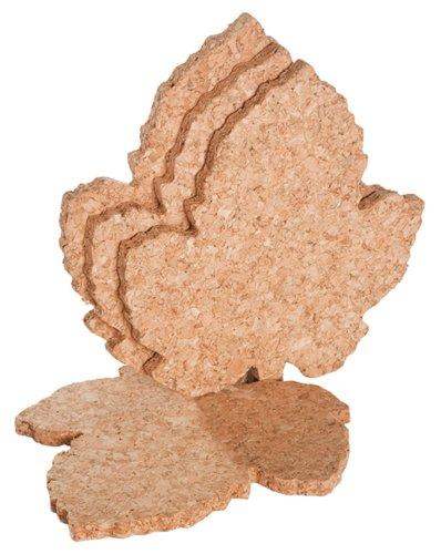 10 best cork coasters leaf shape for 2021