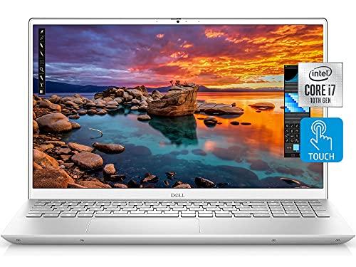 Dell Inspiron 15 Plus 7501 Laptop, 15.6' FHD LED Backlit Touchscreen, i7-10750H, GTX 1650Ti, 16GB DDR4 RAM, 1TB PCIe SSD, Webcam, Backlit Keyboard, Fingerprint Reader, WiFi6, Bluetooth, Win 10 Home