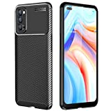 TECHGEAR Carbon Fibre Case for Oppo Reno4 5G [CarbonFlex