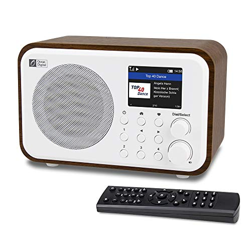 Ocean Digital WiFi Internet Radios WR-336N Portable Digital Radio with