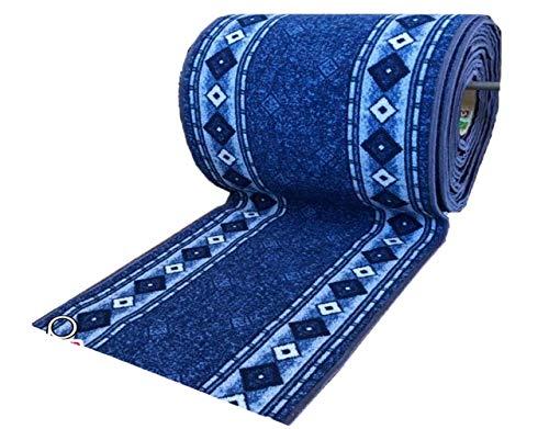 Alfombra Pasillo por Metros Azul
