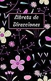 Libreta de direcciones: Agenda de direcciones y teléfonos pequeña, español, ordenación alfabética