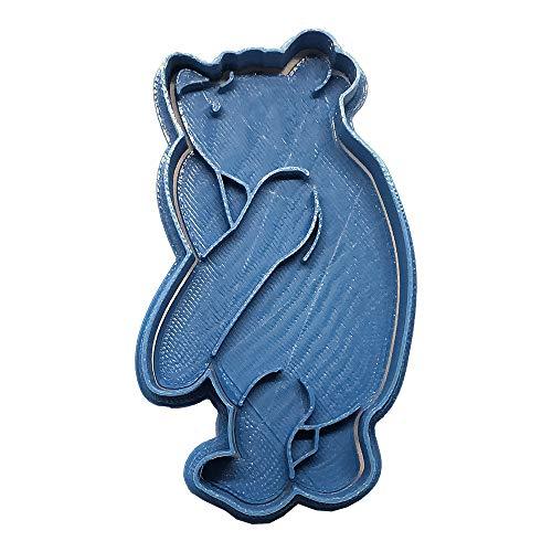 Cuticuter Cookie Cutter Winnie The Pooh, PLA, Blue, 8 cm