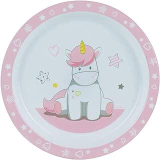 M/élamine Rose FUN HOUSE 004948 Minnie Assiette pour Enfant 22 x 22 x 1 cm