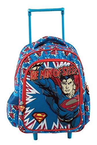 Graffiti Superman Mochila Escolar, 30 cm, Azul (Blue)