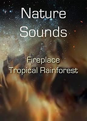 Nature Sounds CD: Fireplace blended with Tropical Rainforest: Soothing Sounds CD No Music Added