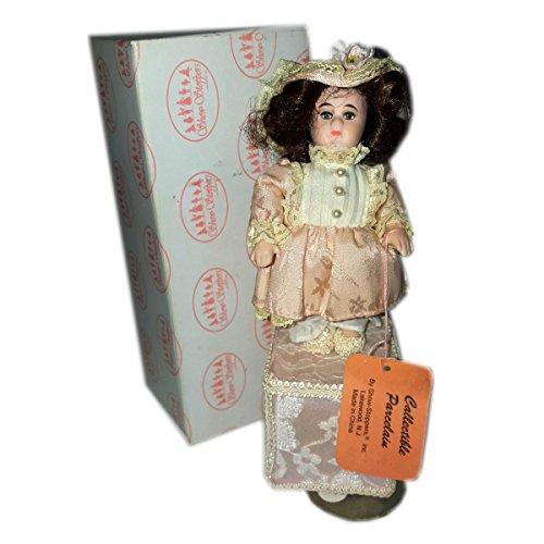 Show-Stoppers Collectible Porcelain Musical Doll Judy Plays Beethovens Fur.