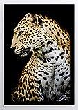 Fotografie Leopard Kunstdruck Poster ungerahmt Bild DIN A4