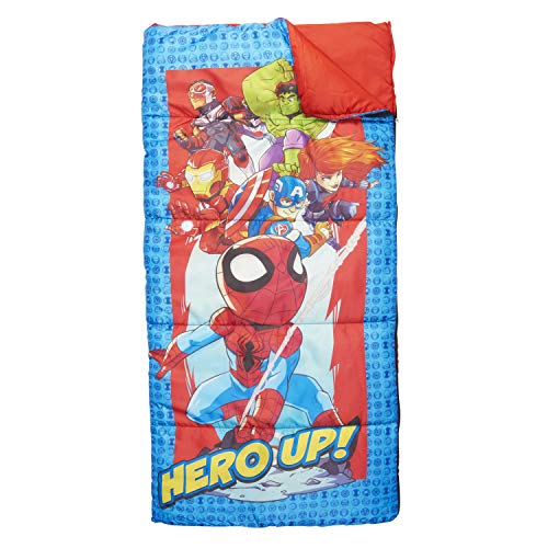 Exxel Marvel Super Hero Adventures HERO UP Slaapzak 56IN X 28IN 4+