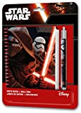 Star Wars - Set con libreta y bolígrafo, color negro (Kids WSE-7019)