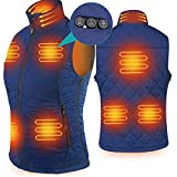 Heated Vest for Women, ARRIS Size Adjustable 7.4V Battery Electric Warm Clothing for Hiking Camping Skiing