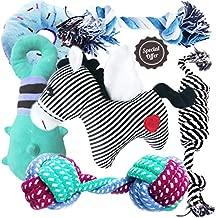 BUIBIIU Dog/Puppy Teething Toys, Assorted Chew Toys, 6 ct