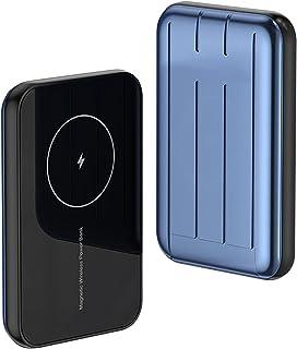 15 w magnetisk powerbank 5 000 mah, bärbar trådlös snabbladdare, 20 w Pd USB typ C externt batteri, kompatibel med iPhone ...