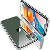 Humixx iPhone 11 Pro Hülle, Ultra Clear iPhone 11 Pro Cover [Anti-Gelb] [Military Grade Drop...