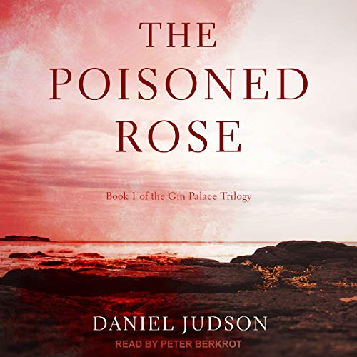 The Poisoned Rose audiobook cover art
