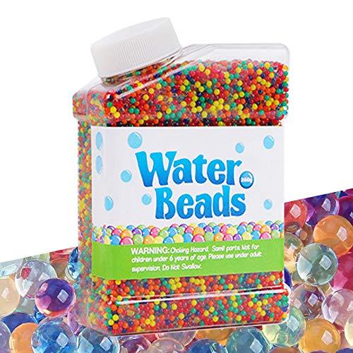 Cneng Wasserperlen Kits 50.000 Perlen Wachsende Bälle, Wasser perlen Feinmotorische Fähigkeiten Spielzeugset für Pflanzen, Vase Füllstoff, Hauptdekoration