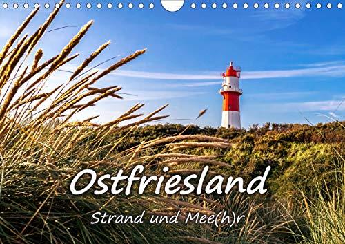 OSTFRIESLAND Strand und Mee(h) r (Wandkalender 2021 DIN A4 quer)