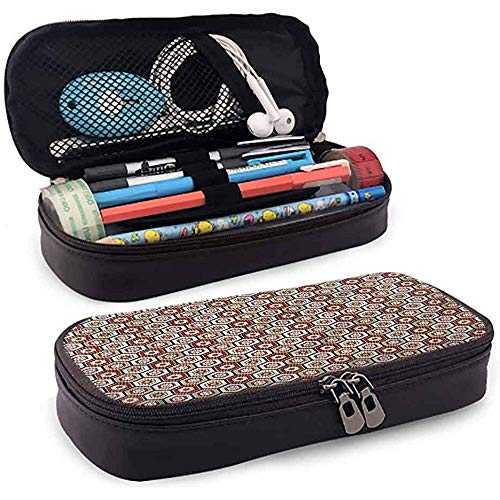 Bleistiftbeutel, federmäppchen tasche, federmäppchen, große kapazität wasserdicht geometrische japanische hexagone 20cm * 9cm * 4cm