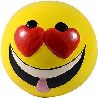 Home Line Hucha de cerámica - Modelo Cara Divertida Emoticono - B