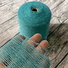 520G Super Mooie zachte gekleurde zijde organische pluche mohair garen voor het breien weven dunne haakdraad (Color : 01)