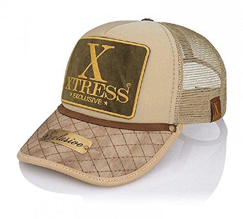 Xtress Exclusive Gorra de color caqui para hombre y mujer.