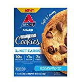 Atkins Protein Cookie Chocolate Chip, 4 Count from AmazonUs/ATKC7